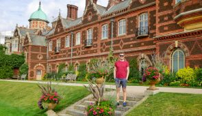 Scott from Absolute Escapes team at Sandringham Estate