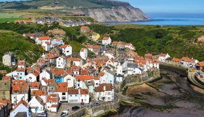 Staithes on the Yorkshire coast