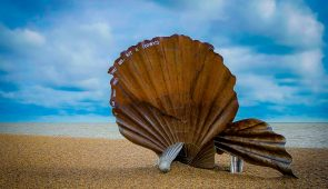 The Scallop at Aldeburgh Beach, Suffolk