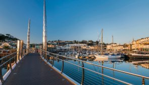 Torquay harbour, English Riviera