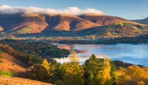 View of Derwentwater in the Lake District