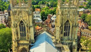 York Cathedral from above