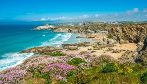 Stunning coastal scenery near Newquay