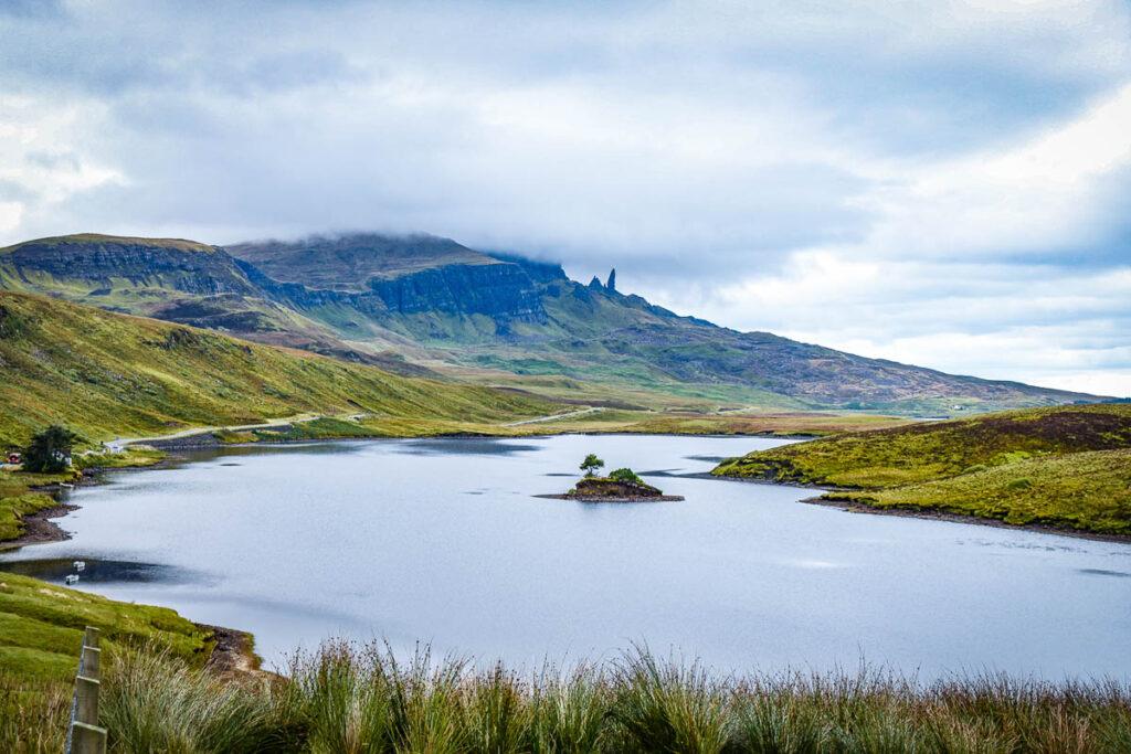 Isle of Skye panoramic view