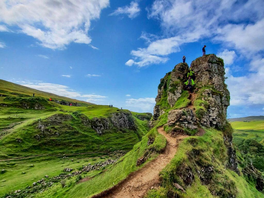 Fairy Glen on the Isle of Skye